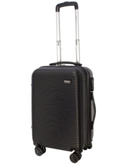Suitcase on 4 wheels TOUR DAILY plastic, small, S - hand luggage, 40 l PROFFI