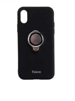 Накладка задняя FaisON для APPLE iPhone XR, Ring FaisON