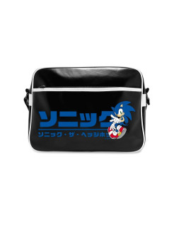 Сумка ABYstyle: SONIC: Messenger Bag Japanese logo ABYBAG099 ABYstyle