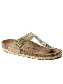 Пантолеты Gizeh BF Magic Snake Gold Narrow BIRKENSTOCK