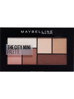 Палетка теней для глаз The City Mini, оттенок 480, Matte About town, 6 гр Maybelline New York