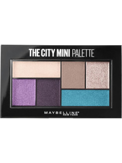 Палетка теней для глаз The City Mini, оттенок 450, Graffiti pop, 6 гр Maybelline New York