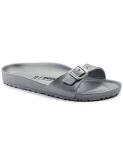 Шлепанцы Madrid EVA Metallic Silver Narrow BIRKENSTOCK