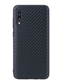 G-Case Carbon Cover for Samsung Galaxy A70 SM-A705F, black G-Case