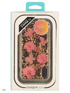 Cover Bloom for iPhone X Rose x-doria