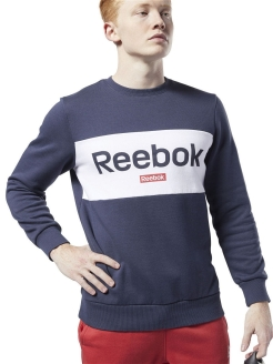 Свитшот TRAINING ESSENTIALS LINEAR LOGO Reebok