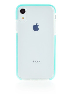 "Чехол Crystal Ice mint для Apple iPhone XR 6.1"" Gurdini"