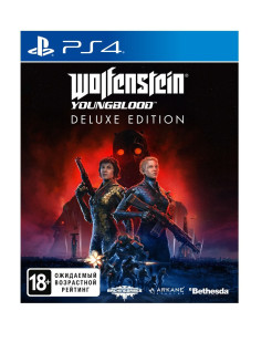 Wolfenstein: Youngblood. Deluxe Edition [PS4, русская версия] Bethesda Softworks