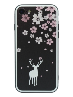 Чехол IPhone 7/8 Glass Series CallMe