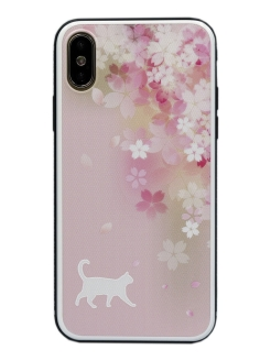 Чехол iPhone Xs Max Glass Series CallMe