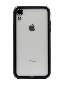 Чехол - case iPhone Xr (Айфон Xr) Transparent electroplating version Totu