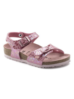 Сандалии Rio Kids MF Metallic Stones Rose Narrow BIRKENSTOCK