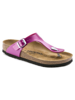 Пантолеты Gizeh BF Electric Metallic Magenta Narrow BIRKENSTOCK