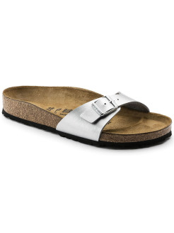 Биркенштоки Madrid BF Silver Narrow BIRKENSTOCK