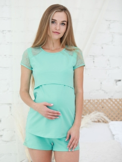 Pajamas, for maternity hospital, with shorts ФЭСТ
