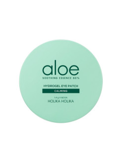 Гидрогелевые патчи для глаз Aloe Soothing Essence 80% Hydrogel Eye Patch Calming Holika Holika