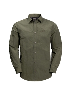 Рубашка LAKESIDE ROLL-UP SHIRT M Jack Wolfskin