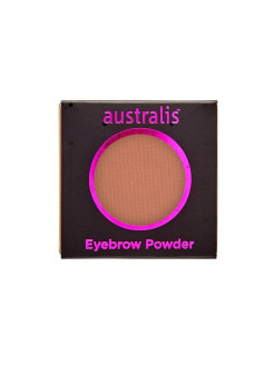 Тени для бровей. РЕФИЛ. Eyebrow Powder - Medium Brown Australis Cosmetics