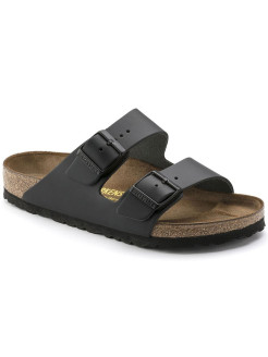 Биркенштоки Arizona NL Schwarz Narrow BIRKENSTOCK