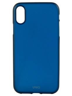 Чехол Uniq для iPhone XR Bodycon Navy blue UNIQ