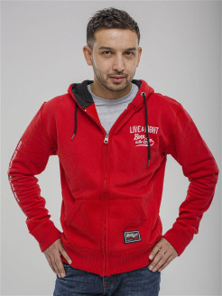 Толстовка mens hoodies stacked OLIMP LIVE & FIGHT