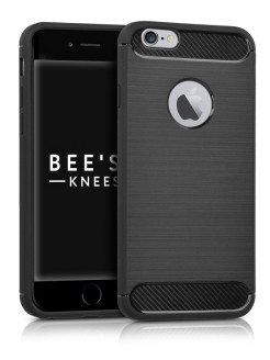 Чехол для iPhone 6 / 6S. Carbon Design. Черный Bee's Knees
