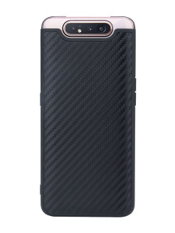 G-Case Carbon Cover for Samsung Galaxy A80 SM-A805F, Black G-Case