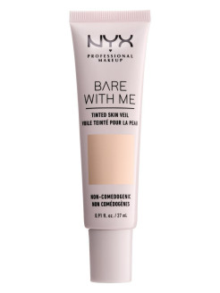"Тональная основа-вуаль для лица ""Bare With Me Tinted Skin Veil"", Оттенок 01, Pale Light, 27 мл NYX PROFESSIONAL MAKEUP"