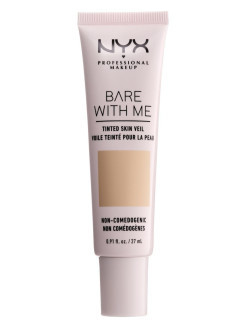 "Тональная основа-вуаль для лица ""Bare With Me Tinted Skin Veil"", Оттенок03, Natural Soft Beige,27мл NYX PROFESSIONAL MAKEUP"