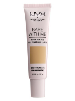"Тональная основа-вуаль для лица ""Bare With Me Tinted Skin Veil"", Оттенок 05, Beige Camel, 27 мл NYX PROFESSIONAL MAKEUP"