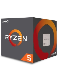 Процессор Ryzen 5 3600, 3.6ГГц, 6-ядерный, L3 32Мб, AM4, BOX AMD.