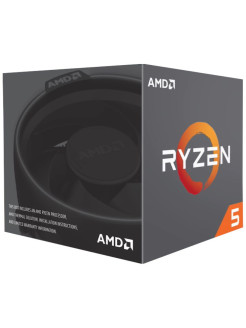 Процессор Ryzen 5 2600, 3.4ГГц, 6-ядерный, L3 16Мб, AM4, BOX AMD.