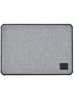 Чехол Uniq для Macbook Pro 13 (2016/2018) DFender Sleeve Kanvas Grey UNIQ