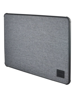 Чехол Uniq для Macbook Pro 15 (2016/2018) DFender Sleeve Kanvas Grey UNIQ