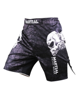 Шорты ММА Skull MS-9 Athletic pro.
