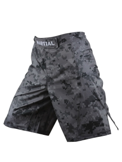 Шорты ММА Martial Camo MS-19 Athletic pro.