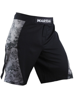 Шорты ММА Martial Camo/Black MS-18 Athletic pro.
