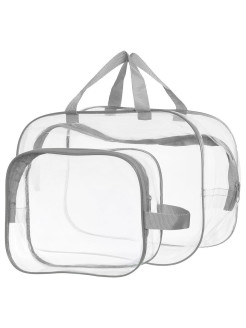 Transparent bag and cosmetic bag in the hospital здравствуй мама