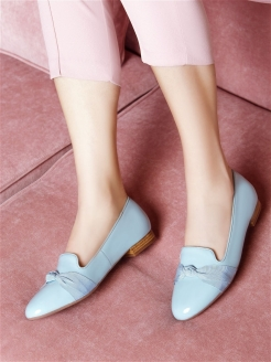 Слиперы BLUE PEARL RABBIT LOAFERS