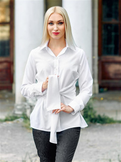 Women's blouse with ties Val'Za