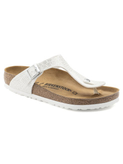 Пантолеты Gizeh Kids BF Magic Snake White Narrow BIRKENSTOCK