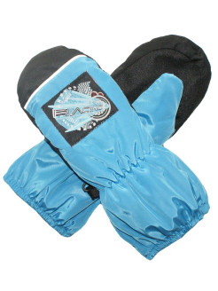 Mittens, application, reflective inserts, insulated, raincoat fabric ARCTICBEAUTY