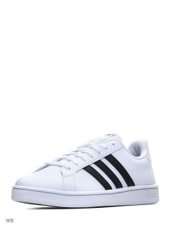 Кроссовки   GRAND COURT BASE FTWWHT/CBLACK/DKBLUE adidas