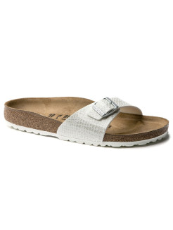 Биркенштоки Madrid BF Magic Snake White Regular BIRKENSTOCK