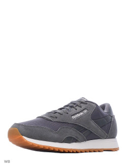Кроссовки  CL NYLON RIPPLE MU  TRUE GREY/WHITE/GUM Reebok