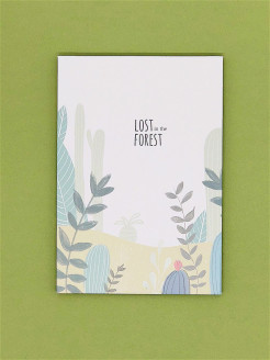 "Зеркало ""Lost in the yellow forest"" iLikeGift"