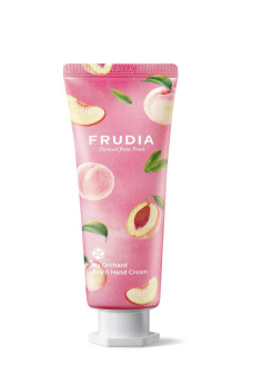 Крем для рук c персиком Squeeze Therapy Peach Hand Cream. FRUDIA