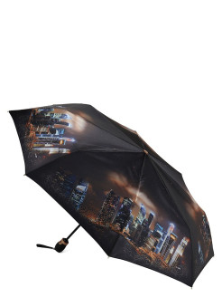 Umbrella, Satin, automatic, diameter 105 cm., Anti-wind ТРИ СЛОНА