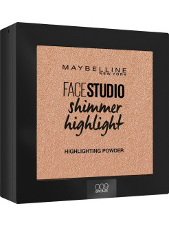 Пудра-хайлайтер для лица Face studio, 9 гр Maybelline New York
