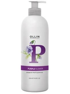 Жидкое мыло SOAP для рук PURPLE FLOWER, 500 мл Ollin Professional